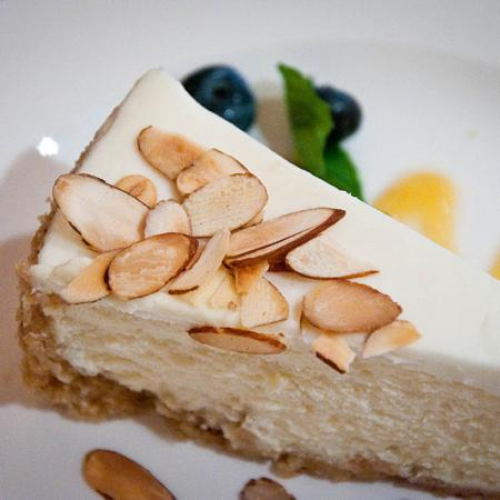 Vanilla Almond Cheesecake