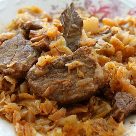 Pork with sauerkraut