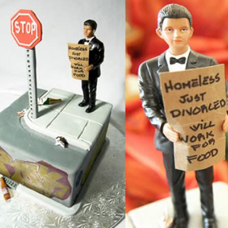 Funny Cakes - Homeless Divorced Ex-Husband