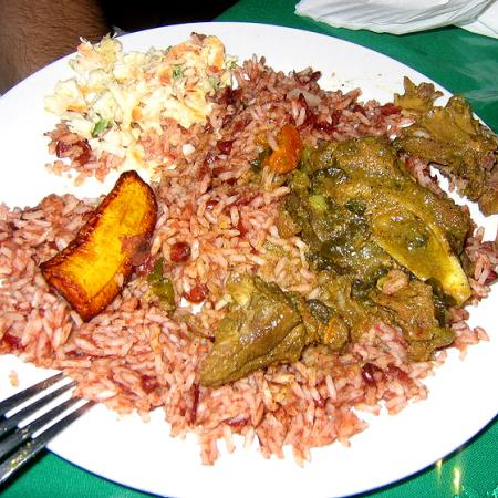 Belize Meal