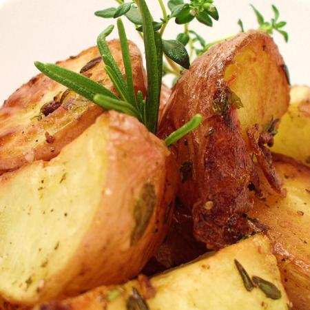 Roasted Herb and Garlic Potatoes
