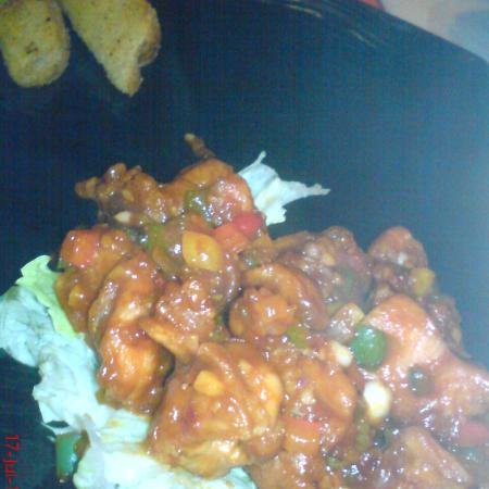 Chicken Manchurian Platter