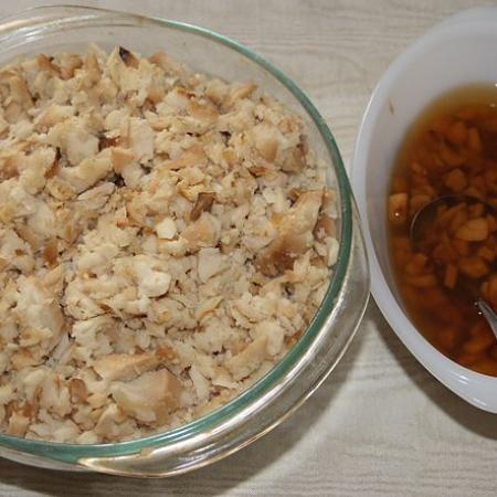 Fish and Brewis with Scrunchions
