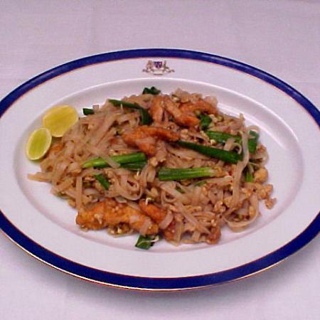 Flat Thai Rice Noodle