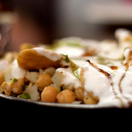 Hot Paapri Chaat