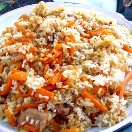 Pilaf with Chicken