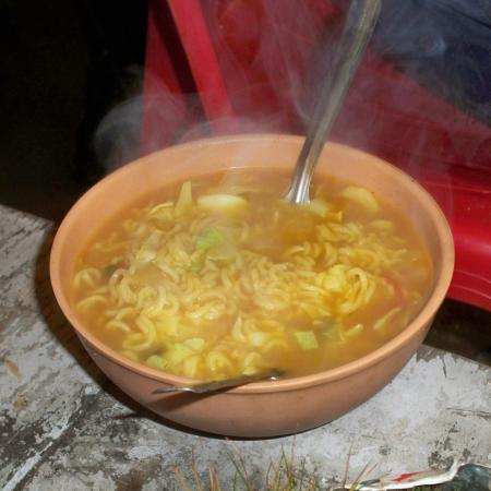 Bowl Of Piping Hot Maggi