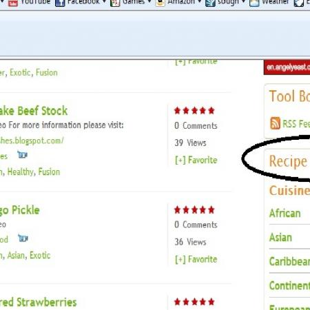 How To Browse Recipes By Recipe Categories