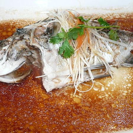 Steam Fish in Sauce
