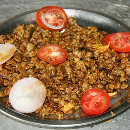 Kerala Mussles  Fry