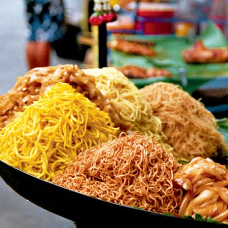 Noodles from Thailand
