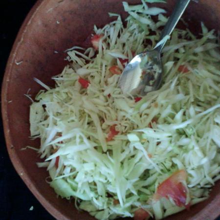 Goan Cabage Salad