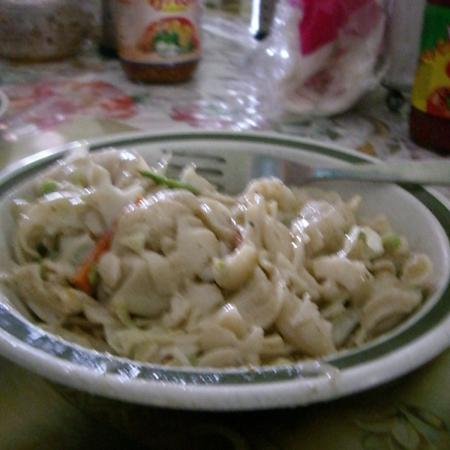 Yummy Pasta In White Sauce
