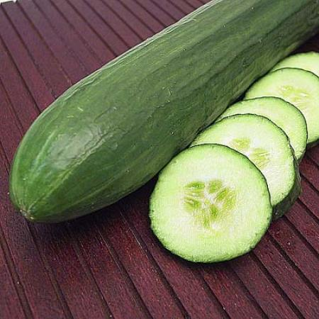 Whole Cucumber and Slices