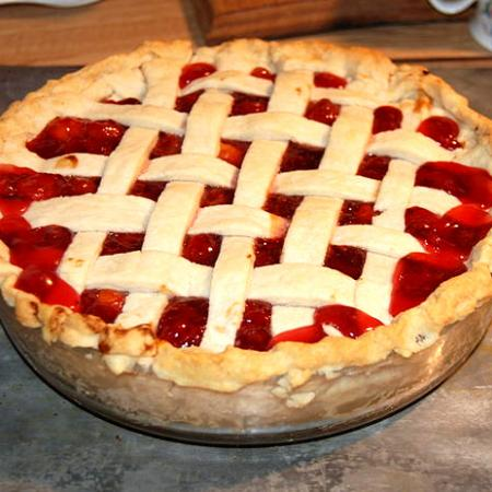Thanksgiving Cherry pie