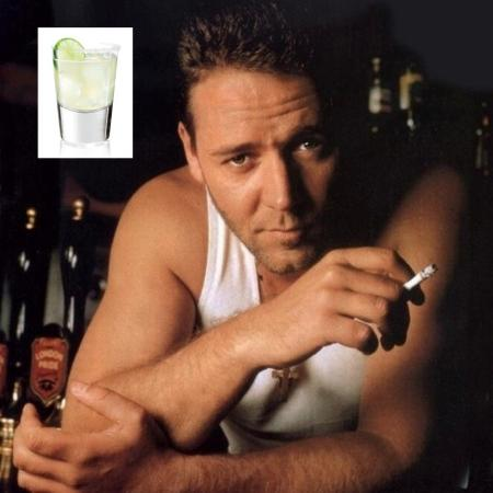 Russell Crowe's Tequila On The Rocks