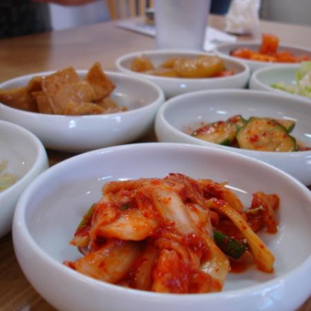 Korean cuisine Kimchi and banchan