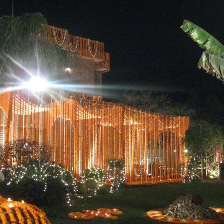 Indian Wedding Decoration - Flower Arrangement