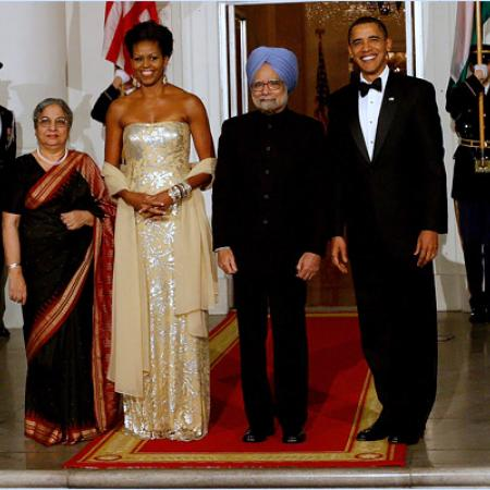 The State Dinner - The Hosts And Guests