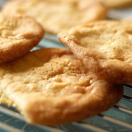 White Chocolate and Orange Cookies