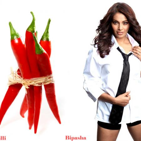 Bipasha Basu And Red Chilli