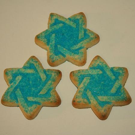 3 sugar cookies