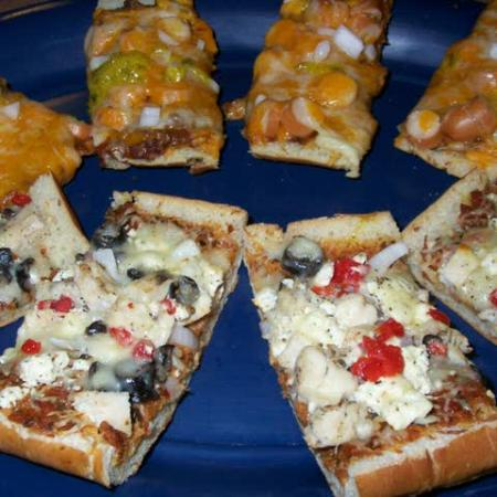 Homemade Bread Pizza
