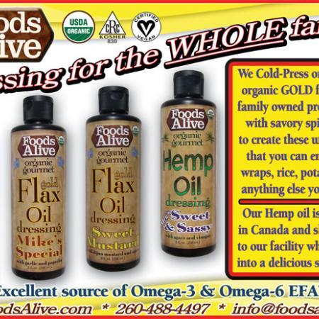 Flax And Hemp Oil Super Dressings