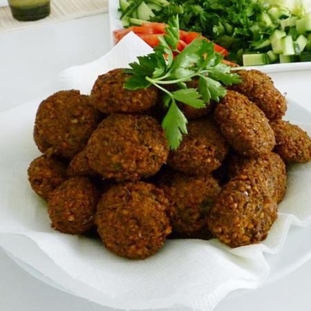 Chickpeas Falafel