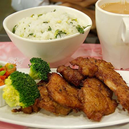 Shanghai pork ribs