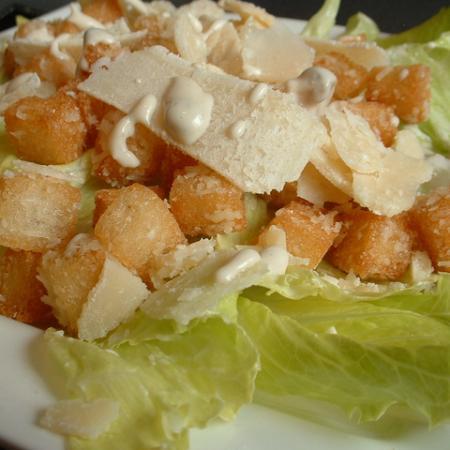 Belgian Vegan Caesar Salad