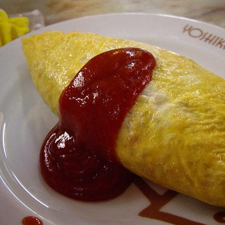 Omurice with Sauce