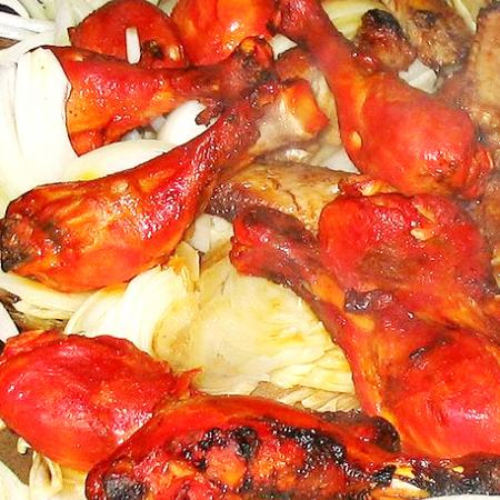 Red Tandoori Chicken