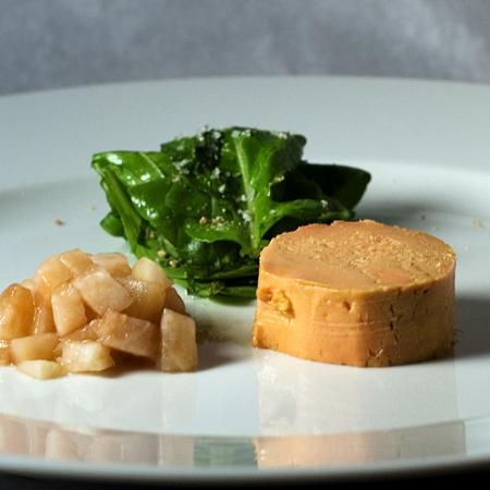 Moulard Duck Foie Gras with Pickled Pear