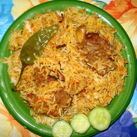 Pakistani Beef Biryani