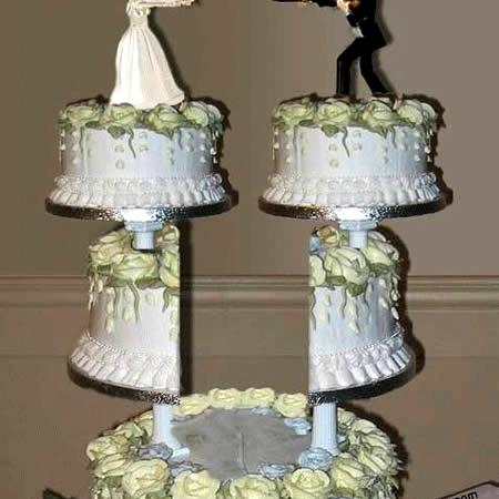 Weird Divorce Cake
