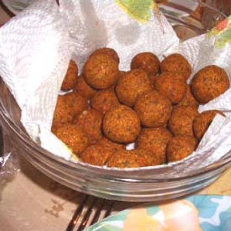 Homemade Falafel