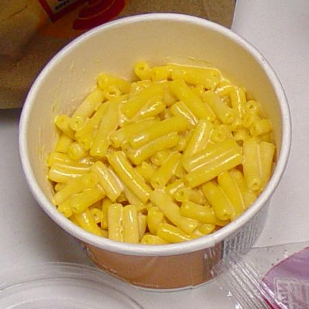 Burger King Kraft Macaroni