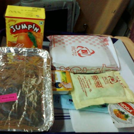 Indian Railway Breakfast