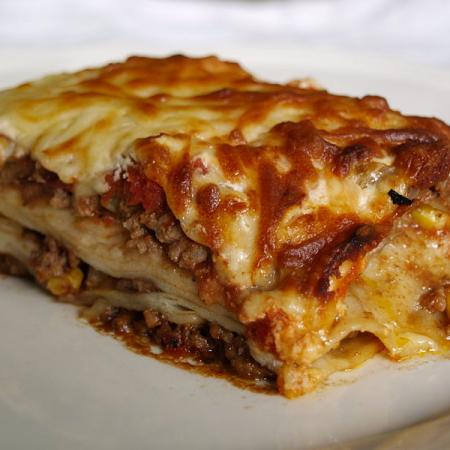 Mexican Cheese lasagne