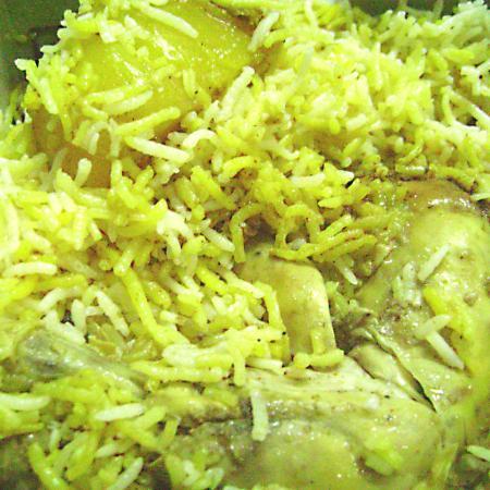 Chicken Biriyani with Potato