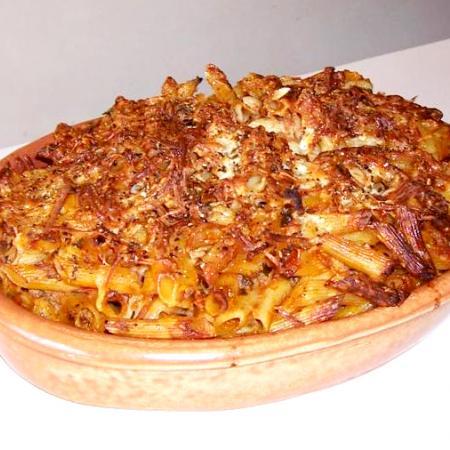 Baked maccaroni
