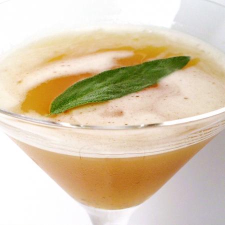 Sage Pineapple Peppercorn Martini