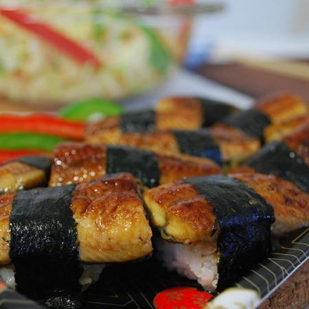 Unagi Nigiri Sushi