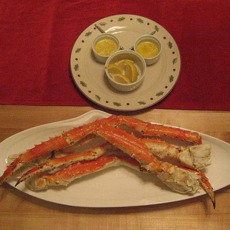 New Years Crab Legs