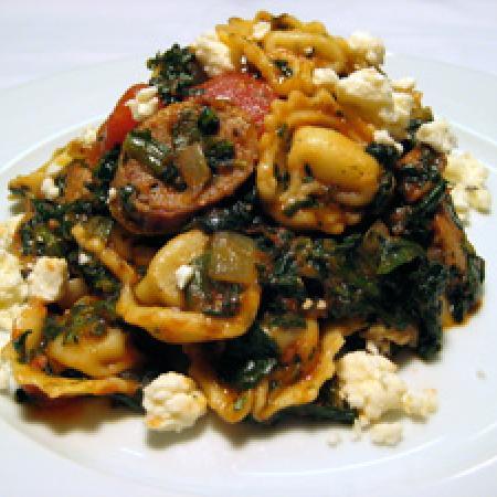 Spinach Tortellini Pasta