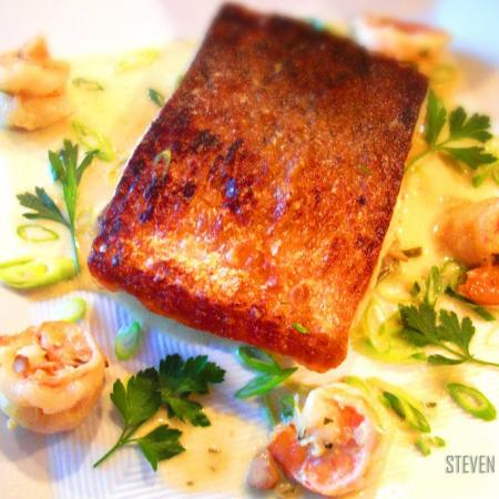 Salmon Balmoral by Steven Dolby