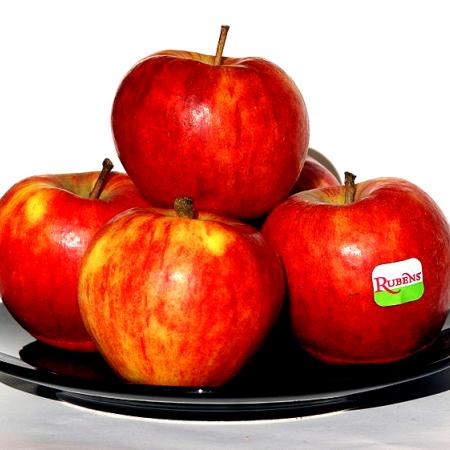 Rubens Apples On Plate