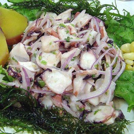 Ceviche of octopus