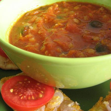 Vegan Tamatar Ka soup